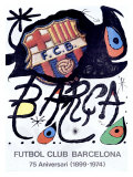 MIRO SOCCER BARCELONA POSTER
