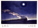 LNER  The Flying Scotsman  Night Train to Scotland