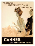 Festival International du Film, Cannes, 1939 Giclée par Jean-Gabriel Domergue