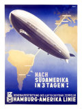 Graf Zeppelin  Hamburg to Amerika  c1937