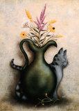 Cat & Vase III