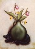 Cat & Vase I