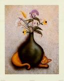 Cat & Vase II