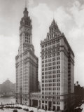 Wrigley Building  Chicago 1930