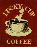Lucky Cup Reproduction d'art par Catherine Jones