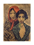 Gypsies  Lithograph