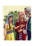 Sarai Introducing Hagar to Abraham
