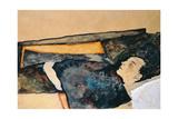Artist's Mother Sleeping