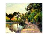 A Pond at Montfoucault  1874