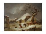 Snow in the Farmyard  1812