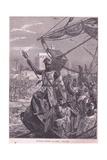 Richard Landing at Jaffa Ad 1192