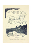 Title Page from 'America  a Prophesy'  Mid 1790S