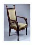 Art Nouveau Style Armchair