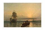 Sunrise at Sea  1861–-66