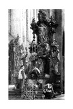 Drawing of an Altar  1885
