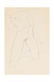Kneeling Female Nude  1912