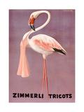 Poster Advertising Zimmerli Clothing  C1935