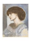 Portrait of Jane Morris  1868-74