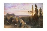 Dream in Apennines  Circa 1864
