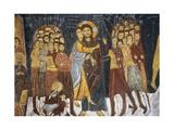 Judas's Kiss  Byzantine Fresco