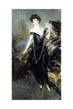 Portrait of Donna Franca Florio  1924