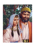 Issac and His Wife Rebekah