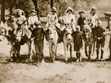 Children Donkey Riding on Hampstead Heath