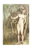 Female Nude with Death as a Skeleton  1897