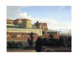 Naples  the Palazzo Reale  C1780