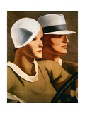 Advert for Italian Hatmaker Borsalino  1929