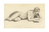 Study of a Female Nude Reading