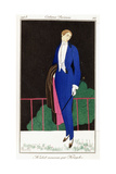 Parisian Clothing: New Frock Coat by Kriegk  1913