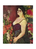 Portrait of Madame Coquiot  1918