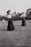 Women's Archery  1909