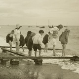 Seaside Fun  Exmouth  C1911