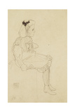 Seated Girl with a Bow in Her Hair  1909