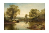 The Stream Through the Birch Woods  1871
