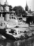 Manikarnika Ghat  Varanasi  India  C1907-8