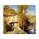 Old Mill at Pelago  Italy  1913
