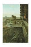 Gargoyles at Notre Dame  1867