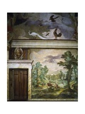 Hunting Scenes  Fresco