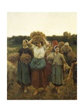 Calling in Gleaners  1859