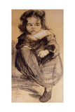 Little Girl with a White Collar  1905