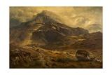 Glyder Fawr  Snowdon Range  Wales  1881