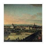 View of Vienna from the Belvedere  1759-1760