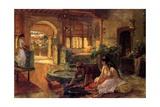 An Oriental Interior  1900