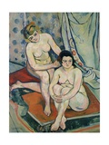 The Two Bathers  1923