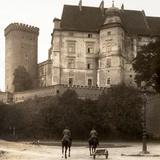 Wawel Castle  Krakow  C1900