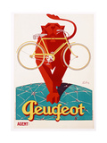 Poster Advertising Peugeot