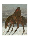 Hunter on Horseback  C1864